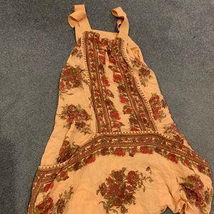 Slip dress with pockets